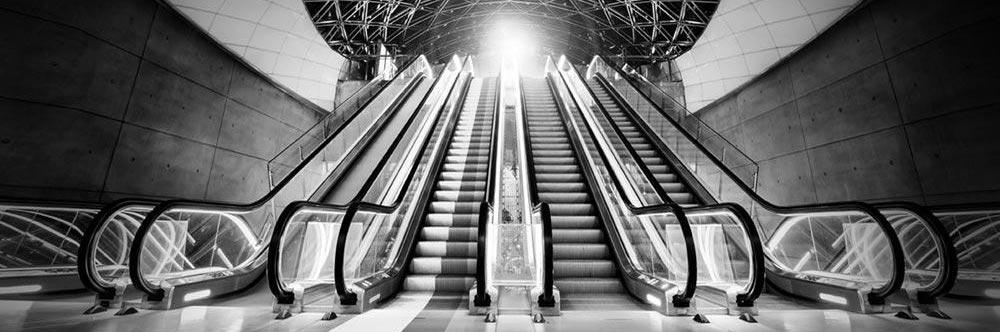 Accent Image - Escalators