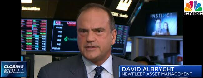 David Albrycht on CNBC's Closing Bell, March 13, 2018
