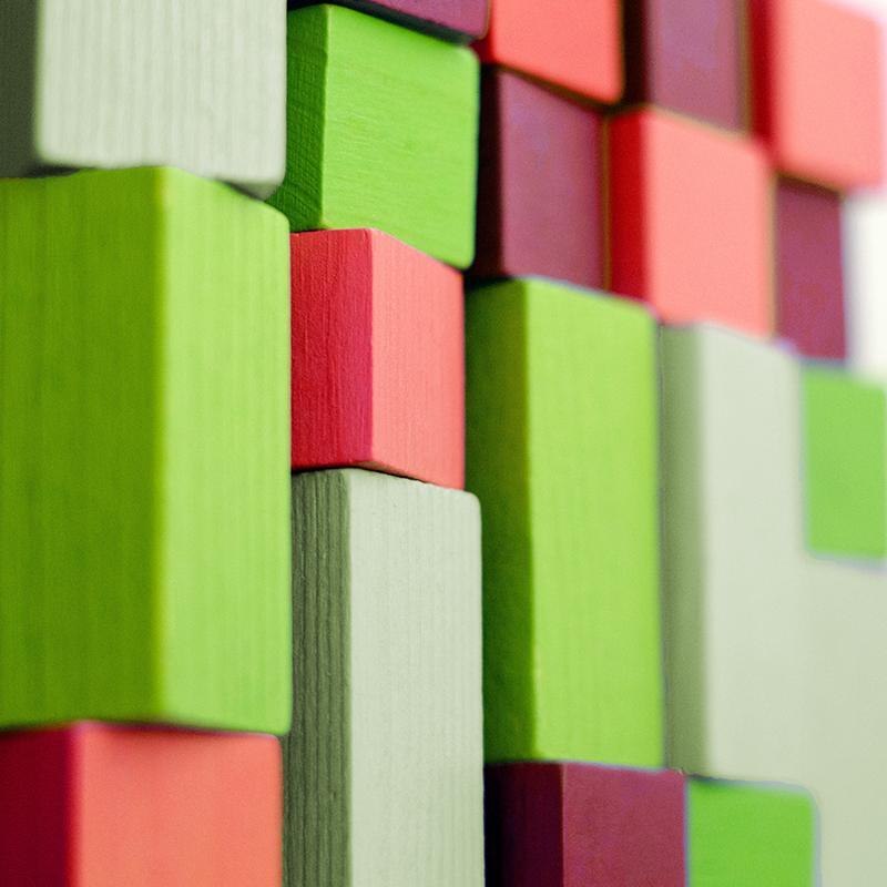 Color Blocks Hero